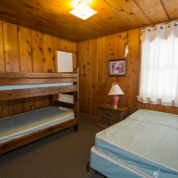 161 Bedroom 2 - 1 Bunk, 1 Double
